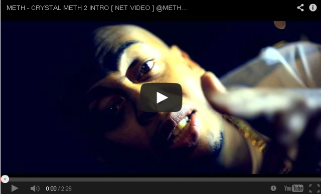 BRITHOPTV- [Music Video] Meth (@MethMuzik) – 'Crystal Meth 2 Intro' [@TVTOXIC] - #UKRap #UKHipHop