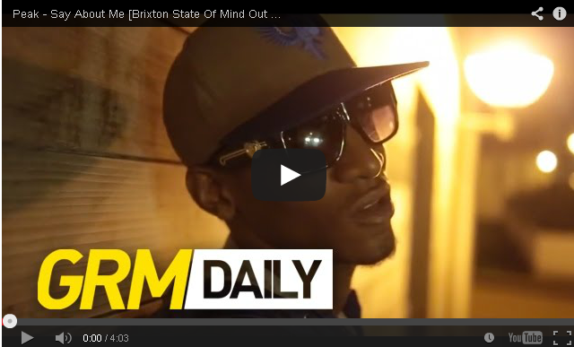 BRITHOPTV- [Music Video] Peak (@ItsPeak_) – 'Say About Me' - #UKHipHop #UKRap
