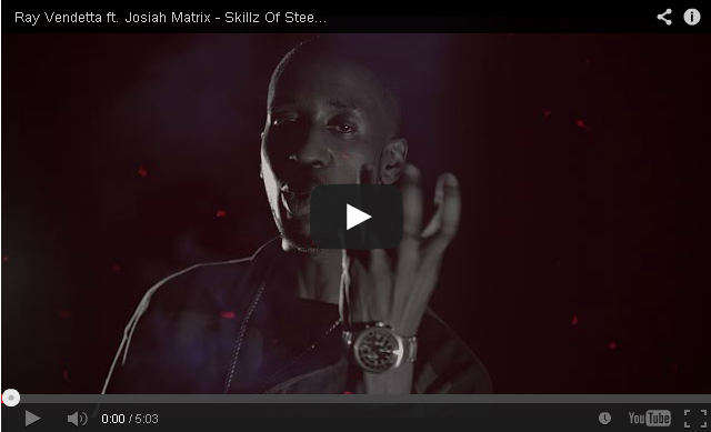 BRITHOPTV- [Music Video] Ray Vendetta (@Ray_Vendetta) – 'Skillz Of Steel ft. Josiah Matrix (@PoisonJMatrix)' (Prod. Calvert) [Dir. @ChibaVisuals- #UKRap #UKHipHop