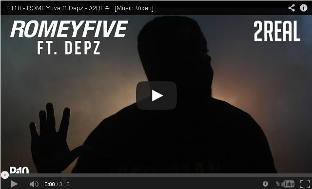 BRITHOPTV- [Music Video] ROMEYfive (@ROMEYfive) & Depz (@DepzmanInvasion ) – '#2REAL'- #UKRap #Grime