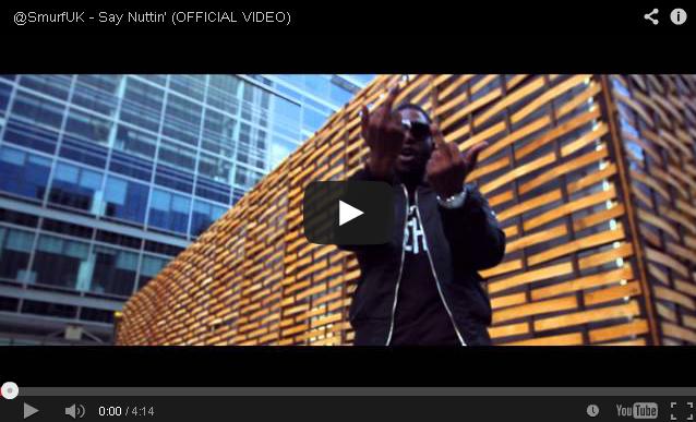 BRITHOPTV- [Music Video] Smurf (@SmurfUK) – 'Say Nuttin' - #UKRap #UKHipHop
