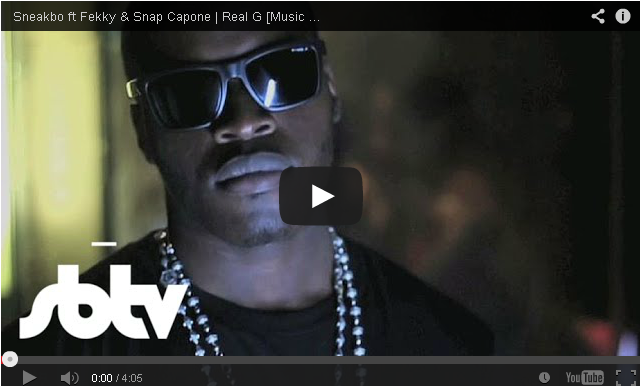 BRITHOPTV- [Music Video] Sneakbo (@Sneakbo) – 'Real G Ft Fekky (@FekkyOfficial) & Snap Capone (@Snapcapone)' - #UKRap #UKHipHop