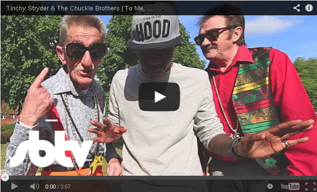 BRITHOPTV- [Music Video] Tinchy Stryder (@TinchyStryder) & The Chuckle Brothers (@PaulChuckle2) – 'To Me, To You (Bruv)' - #Grime.