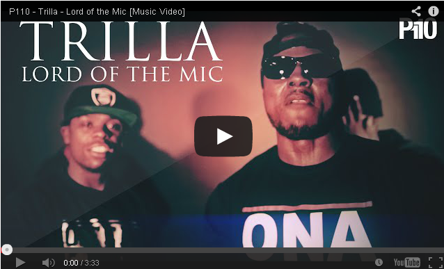 BRITHOPTV- [Music Video] Trilla (@Trilla0121) – 'Lord of the Mic' [@P110Media] - #Grime