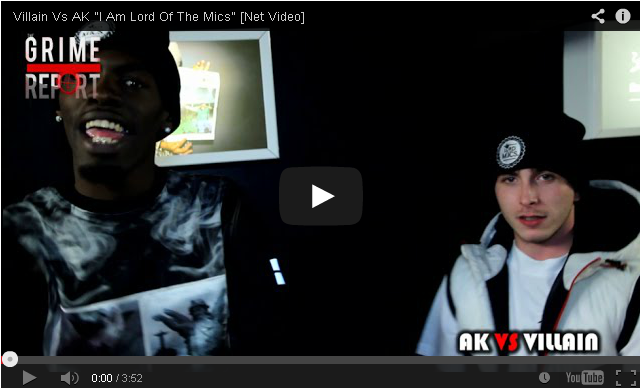 "BRITHOPTV- [Music Video] Villain (@VillianInvasion) Vs AK (@AKNFS) ""I Am Lord Of The Mics"" [Net Video] - #Grime"