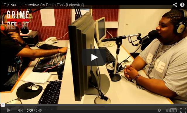 BRITHOPTV- [Video Interview] Big Narstie (@BigNarstie) Interview On Radio EVA [ #Leicester] - #Grime #UKUrban