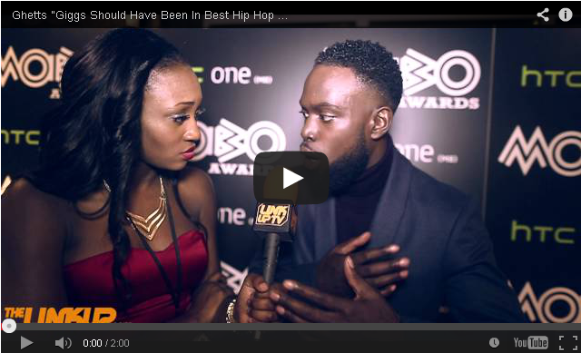"BRITHOPTV- [Video Interview] Ghetts (@J_Clarke_Ghetts ""Giggs (@OfficialGiggs) Should Have Been In Best Hip Hop Award"" #MOBO2014 - #Grime #UKRap"