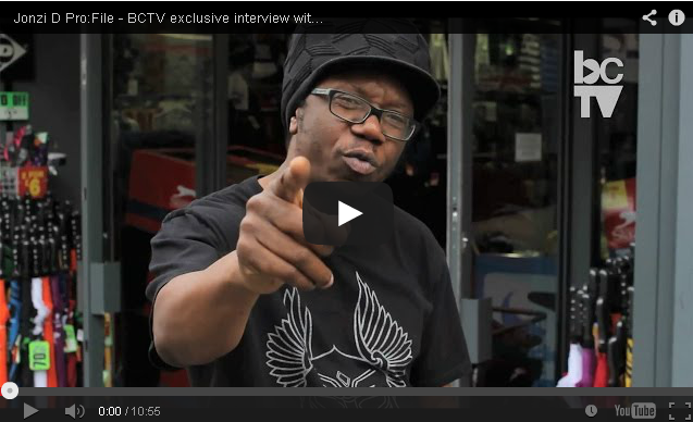 BRITHOPTV- [Video Interview] Jonzi D (@JonziD) Pro-File – BCTV (@BConvention) exclusive interview with UK hip hop theatre pioneer [Black Dance Archives] - #UKHipHop.