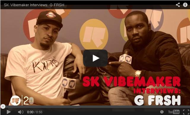 BRITHOPTV- [Video Interview] SK Vibemaker (@skvibemaker) interviews- G FRSH (@GFrSH) - #UKRap #UKHipHop