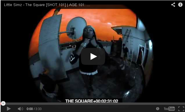 BRITHOPTV- [Video] Little Simz (@LittleSimz ) – 'The Square SHOT 101′ - #UKRap #UKHipHop