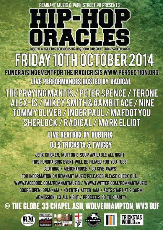 Hip-Hop oracles 10 oct