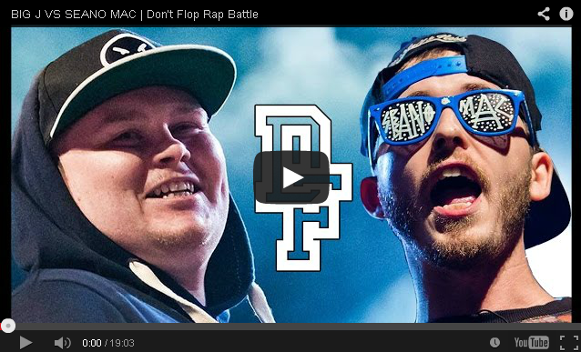 BRITHOPTV- [Battle Video] Big J (@BigJWest) Vs Seano Mac (@SeanoMac) [ @DontFlop] - #UKHipHop #UKBattleRap.