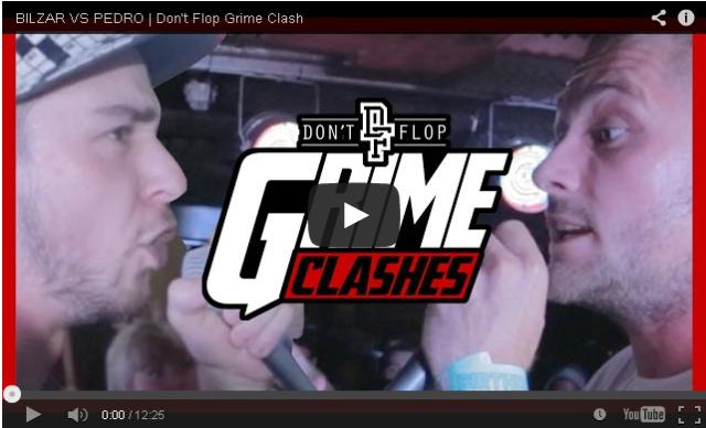 BRITHOPTV- [Battle Video] Grime Clash- Blizar (@Bilzar90) Vs Pedro (@pedrodontflop) [@DontFlop] - #Grime