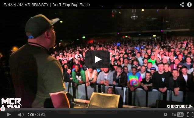 BRITHOPTV- [Battle Video] MCR VS LDN- Bamalam (@JoelWattz) Vs Briggzy (@BriggzyUK) [@DontFlop] - #UKHipHop #UKBattleRap.