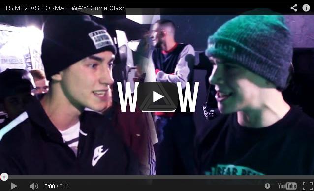 BRITHOPTV- [Battle Video] WAW Grime Clashes- Rhymez (@rymezofficial) Vs Forma (@formastv) [@wawgrimeclashes] - #Grime