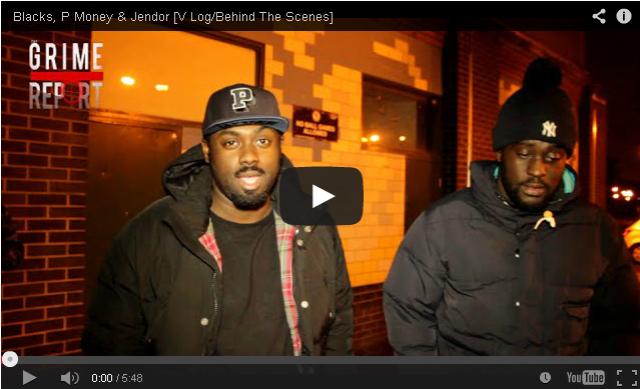 BRITHOPTV- [Behind The Scenes] Blacks (@KingBlacks) P Money (@KingPMoney) & Jendor (@HollowmanJendor) - #Grime