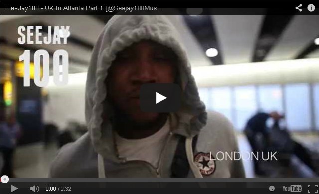 BRITHOPTV- [Behind The Scenes] SeeJay100 (@Seejay100Music) – UK to Atlanta Part 1- #UKRap #UKHipHop.