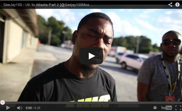 BRITHOPTV- [Behind The Scenes] SeeJay100 (@Seejay100Music) – UK to Atlanta Part 2 (Exp Cont 18 +) - #UKRap #UKHipHop