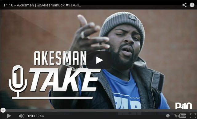 BRITHOPTV- [Freestyle Video] Akesman (@Akesmanudk) – #1TAKE #Freestyle [ @P110Media] - #UKRap #UKHipHop.