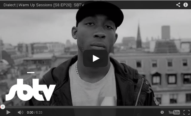 BRITHOPTV- [Freestyle Video] Dialect (@Dialect) #WarmUpSessions [S8.EP20]- SBTV - #Grime #UKRap