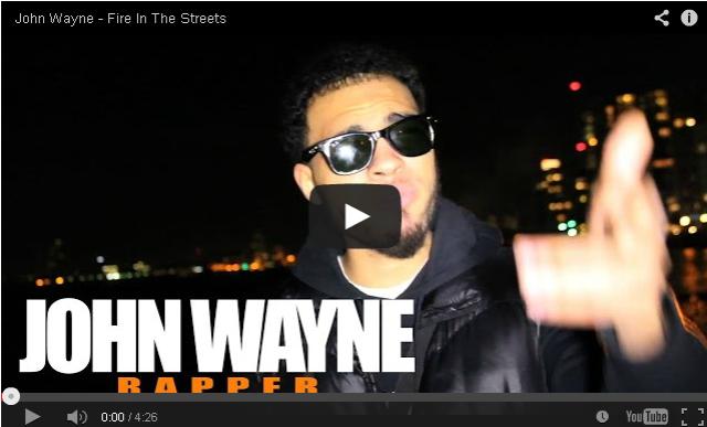 BRITHOPTV- [Freestyle Video] John Wayne (@JohnnyLaLaLa) – ' #FireInTheStreets' [ @CharlieSloth] - #UKRap #UKHipHop