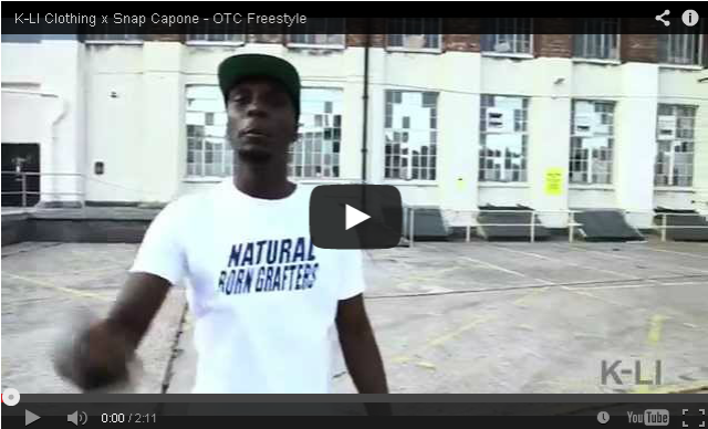 BRITHOPTV- [Freestyle Video] K-LI Clothing (@kliclothing) x Snap Capone (@snapcapone) – OTC Freestyle - #UKRap #UKHipHop