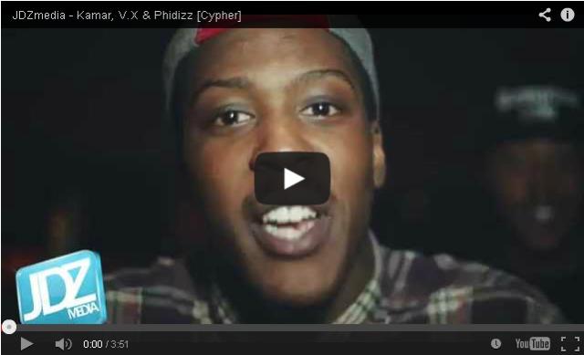 BRITHOPTV- [Freestyle Video] Kamar (@Kamarofficial) , V.X (@VX_01332) & Phidizz (@Phidizz_ODM) ) #Cypher [@JDZMedia] - #Grime.