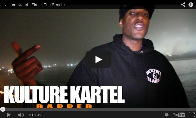 BRITHOPTV- [Freestyle Video] Kulture Kartel (@kulturekartel) – ' #FireInTheStreets' [@CharlieSloth] - #UKRap #UKHipHop.