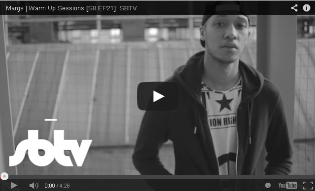 BRITHOPTV- [Freestyle Video] Margs (@MargsMT) – ' #WarmUpSessions' [S8.EP21] - #UKRap #UKHipHop
