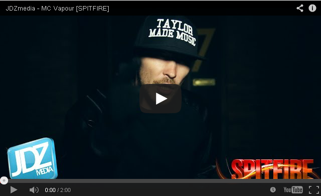 BRITHOPTV- [Freestyle Video] MC Vapour (@OriginalVapour) – ' #Spitfire' [ @JDZMedia] - #Grime