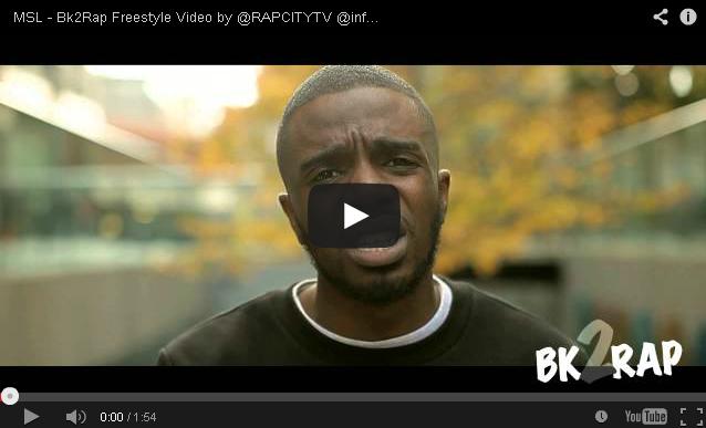 BRITHOPTV- [Freestyle Video] MSL (@infamosmslsly1 – '#BK2RAP #Freestyle' [@RAPCITYTV] -#UKRap #UKHipHop