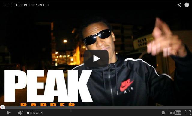 BRITHOPTV- [Freestyle Video] Peak (@ItsPeak_) – ' #FireInTheStreets' [ @CharlieSloth] - #UKRap #UKHipHop