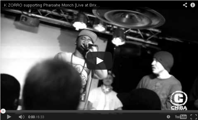 BRITHOPTV- [Live Performance] K ZORRO (@Kguavara) supporting Pharoahe Monch (@PharoaheMonch) [Live at Brixton Jamm] - #UKRap #UKHipHop.