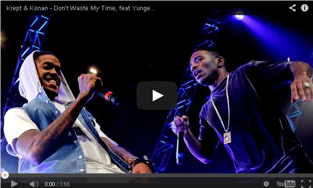 BRITHOPTV- [Live Performance] Krept & Konan – 'Don't Waste My Time RMX Ft Chip, Wretch 32, Fekky' & Yungen - #UKRap #UKHipHop