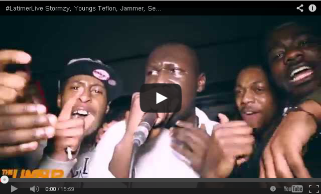 BRITHOPTV- [Live Performance] #LatimerLive- Stormzy (@Stormzy1), Youngs Teflon (@YoungsTeflon), Jammer (@JammerBBk) , Seejay 100 (@Seejay100Music) & More - #UKRap #Grime