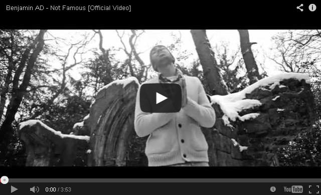 BRITHOPTV- [Music Video] Benjamin AD (@Benjamin_AD) – 'Not Famous' (Dir. @OliverWhitehouse) - #UKRap #UKHipHop
