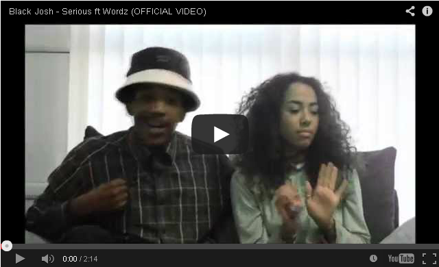 BRITHOPTV- [Music Video] Black Josh (@BlackJoshAPE) – 'Serious ft Wordz (@WordzUK)' [@BlahRecords] - #UKRap #UKHipHop.