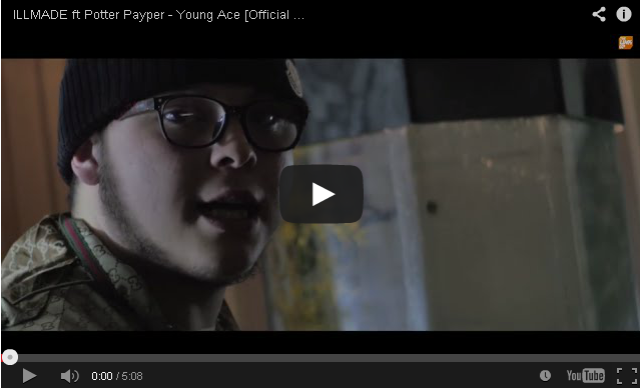 BRITHOPTV- [Music Video] ILLMADE (@illmade100) – 'Young Ace Ft. Potter Payper (@ThePotterBK)' - #UKRap #UKHipHop