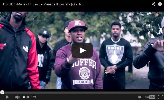 BRITHOPTV- [Music Video] KD BlockMoney (@kdblockmoney) –'Menace II Society Ft JawZ' - #UKRap #UKHipHop.