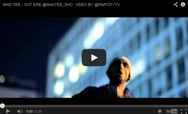 BRITHOPTV- [Music Video] Mad Tee (@MADTEE_SHO ) – 'Out Ere' [@RapCityTV] - #UKRap #UKHipHop.