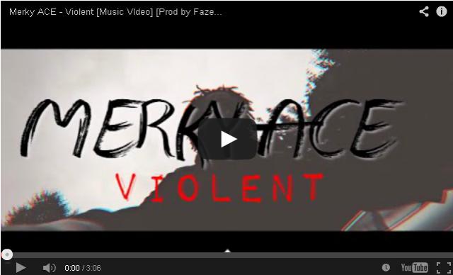 BRITHOPTV- [Music Video] Merky Ace (@MerkyACE) – 'Violent' [@LAHMEDIA] - #Grime