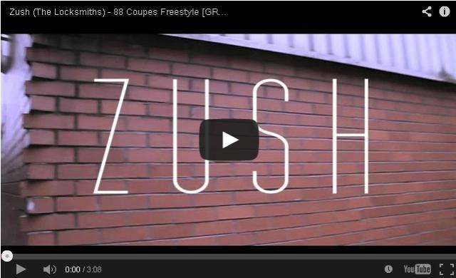 BRITHOPTV- [Music Video] Zush (@LocksmithsLDN) – 88 Coupes Freestyle [GRM Daily] - #UKRap #UKHipHop.