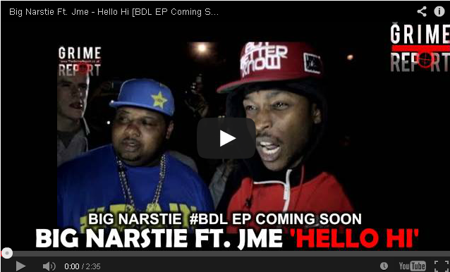 BRITHOPTV- [New Music] Big Narstie ( @Big Narstie ) – 'Hello Hi Ft. JME (@JMEBBK)'- #Grime.