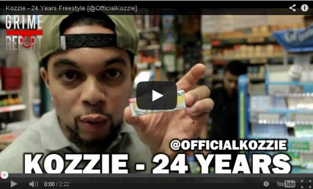 BRITHOPTV- [New Music] Kozzie (@OfficialKozzie) – ' #24YearsFreestyle' - #Grime