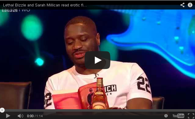 BRITHOPTV- [TV Show] @LethalBizzle and @SarahMillican75 read erotic fiction – #NeverMindtheBuzzcocks- Episode 7 – BBC Two - #Grime #MusicShow