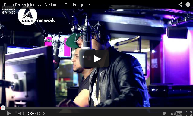 BRITHOPTV- [Video Interview] @BladeMusic interview with @KanDman &. @DJLimelightUK on @BBCAsianNetwork - #UKRap #UKHipHop