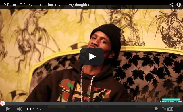"BRITHOPTV- [Video Interview] D Double E (@DDoubleE7)- ""My deepest bar is about my daughter"" - #Grime"