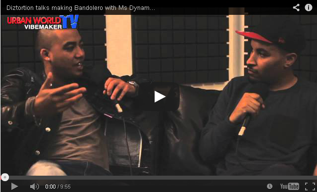 BRITHOPTV- [Video Interview] Diztortion (@theDiztortion) talks making Bandolero with Ms Dynamite (@Ms_Dynamite), hits with Lethal Bizzle (@LethalBizzle), passion vs. success - #Grime #Production.