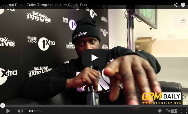 BRITHOPTV- [Video Interview] Lethal Bizzle Talks Tempz at Culture Clash, Business Ventures And More #1XTRALIVE [GRM DAILY] - #Grim
