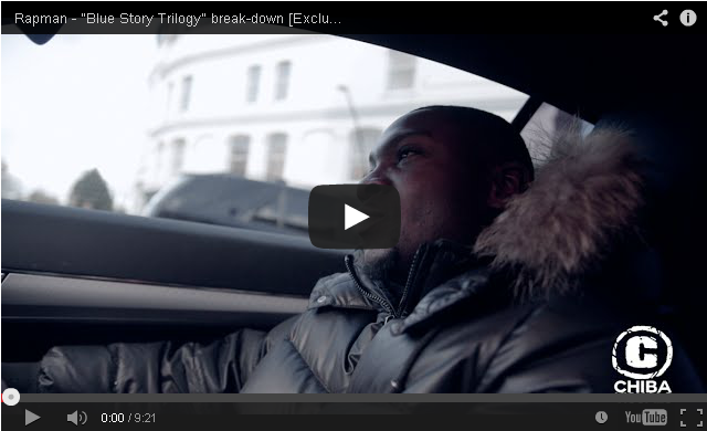"BRITHOPTV- [Video Interview] Rapman (@RealRapman) – ""Blue Story Trilogy"" break-down [Exclusive Interview] [@ChibaVisuals] - #UKRap #UKHipHop."